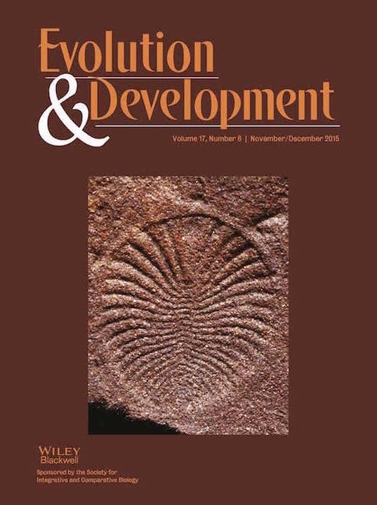 Evolution and Development (2015) Cover